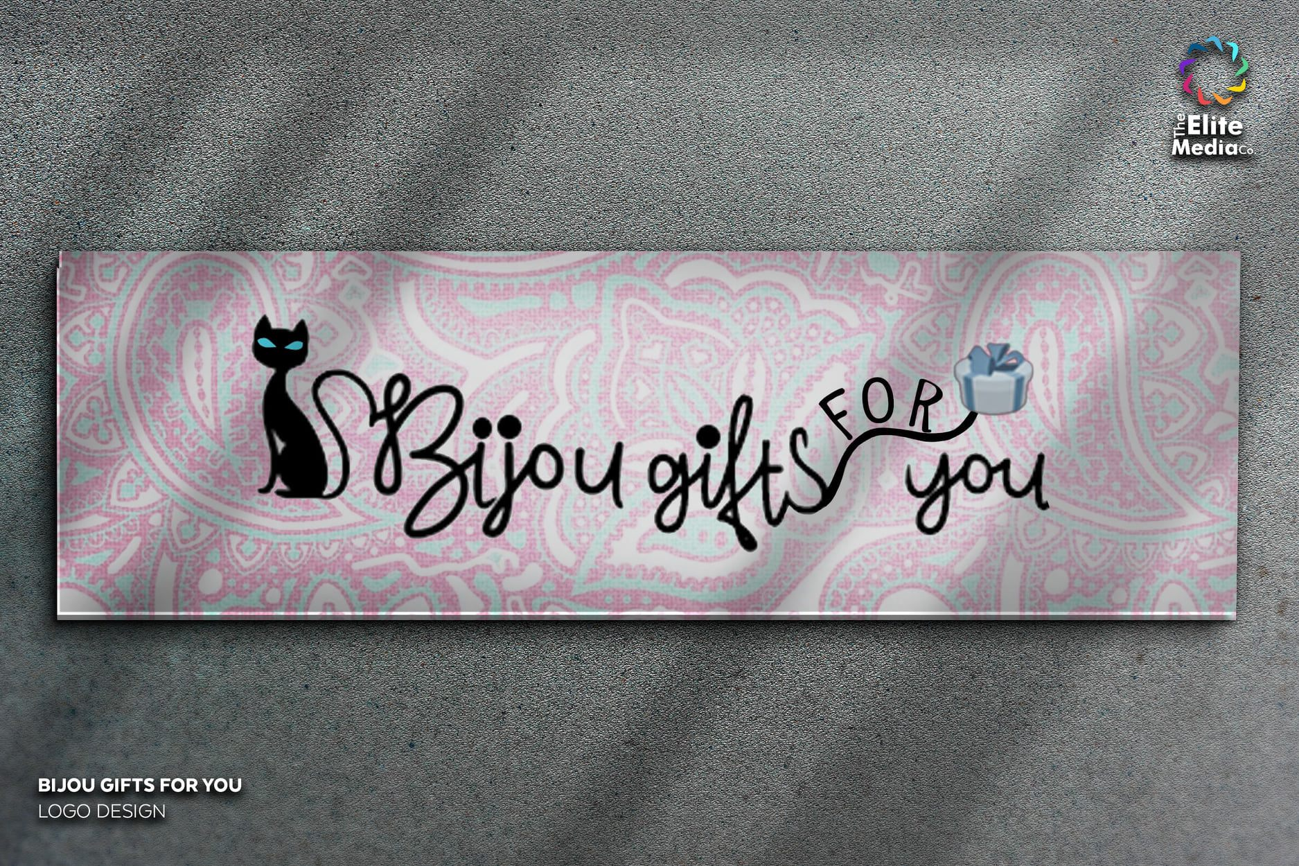 Bijou Gifts For You – Banner Design