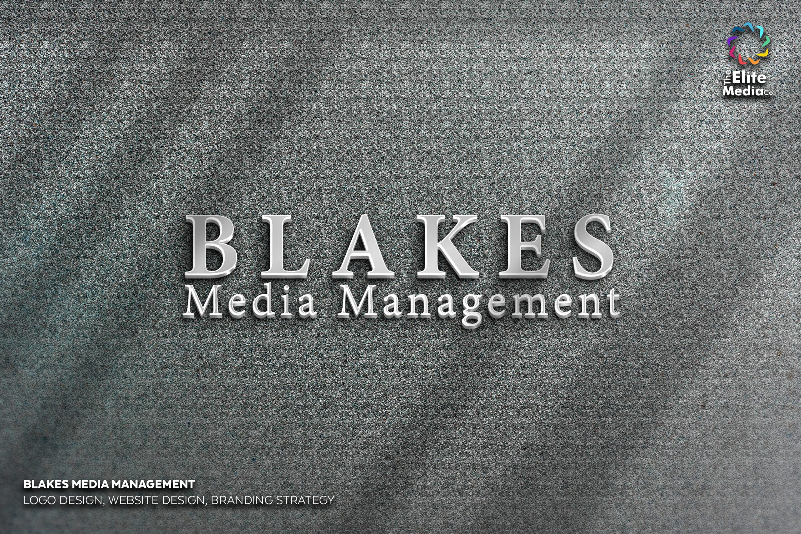 Blakes Media Management – Logo
