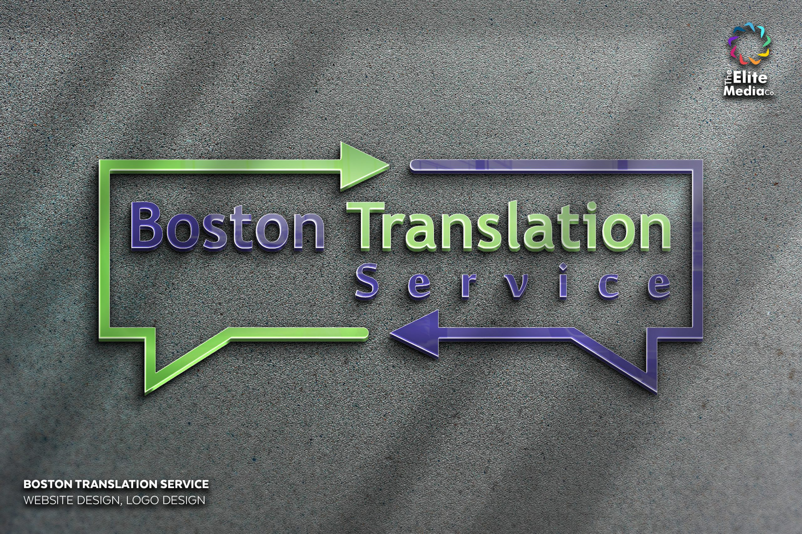 Boston Translation Service – Logo