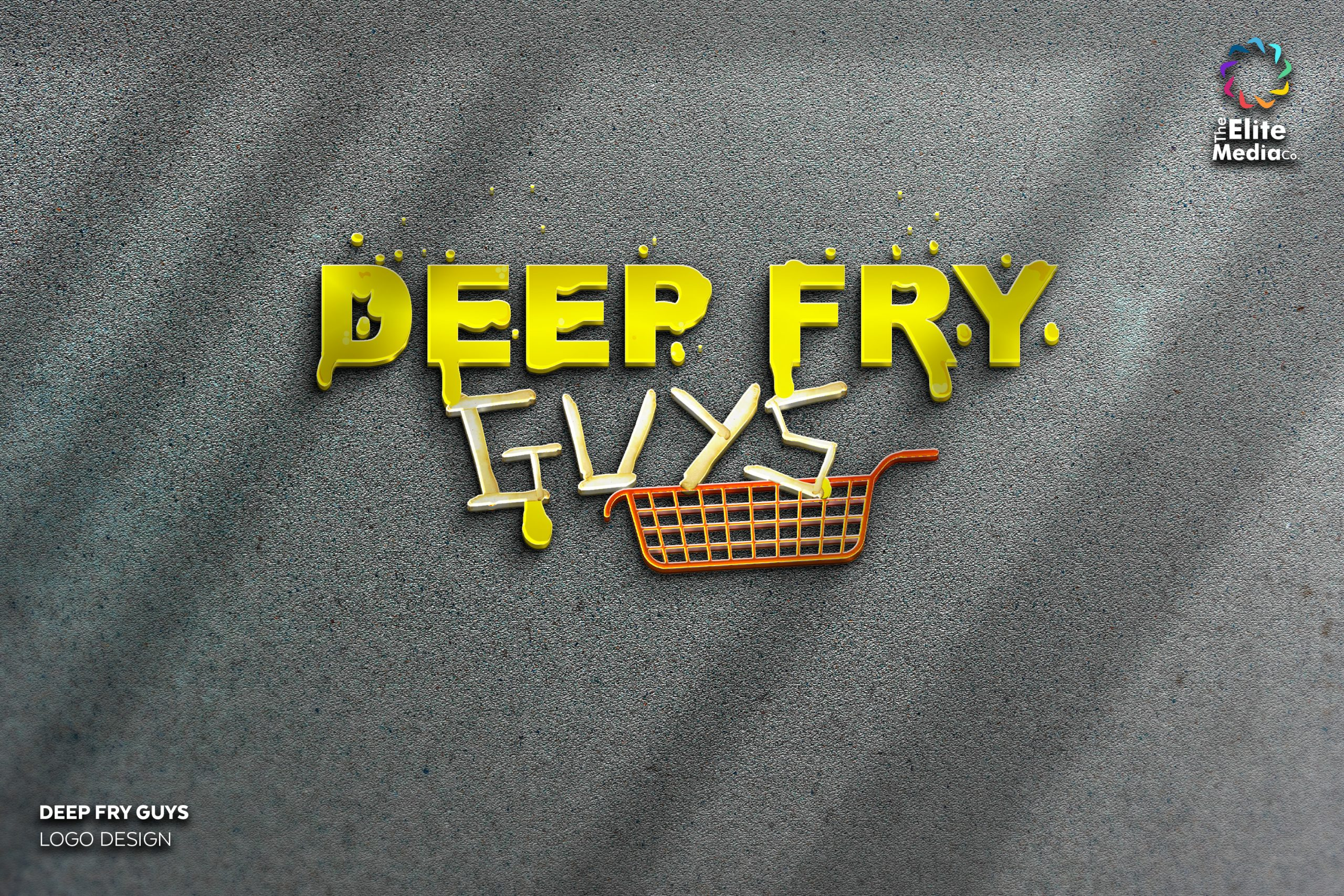 Deep Fry Guys – Logo