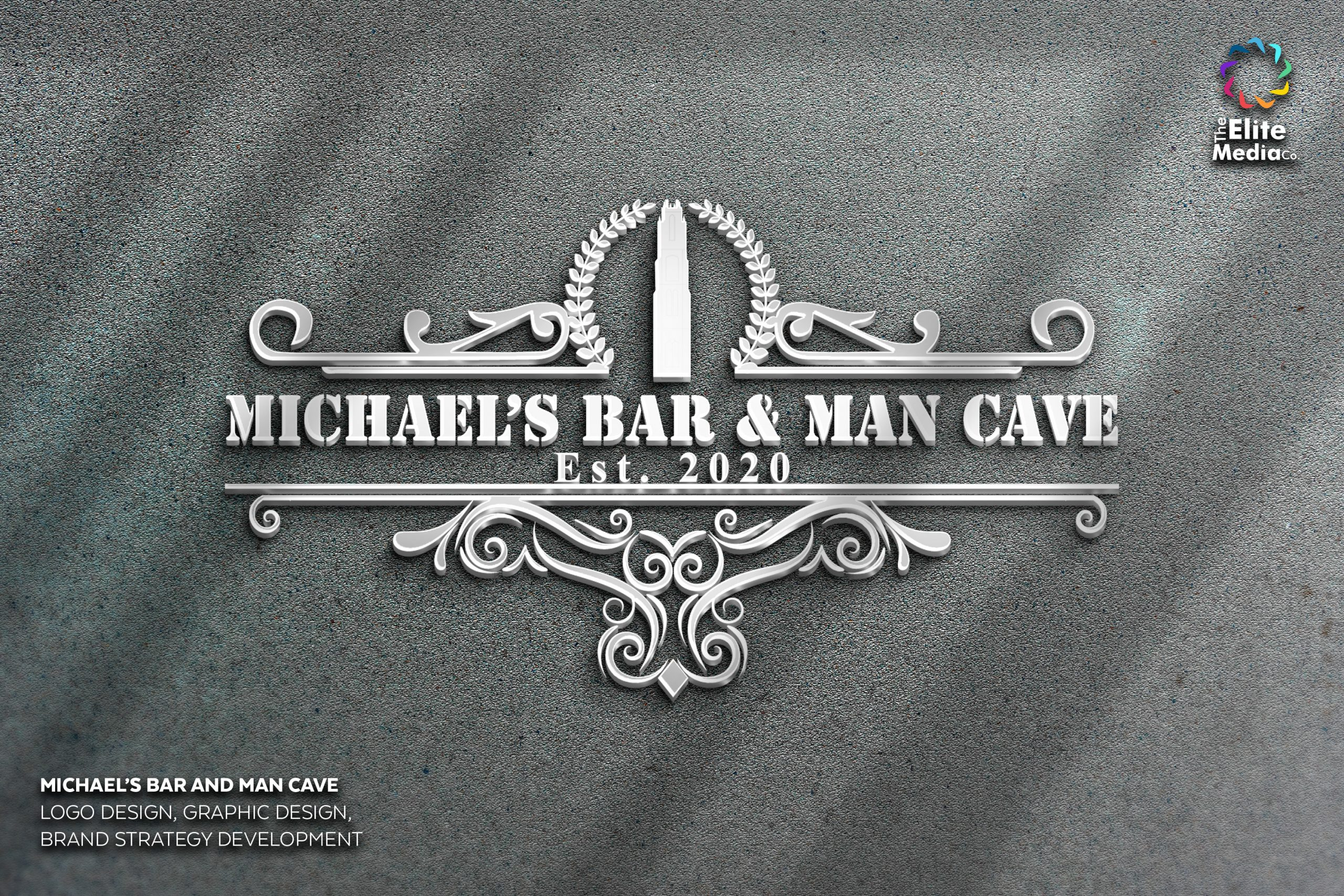 Michael's Bar and Man Cave – Logo