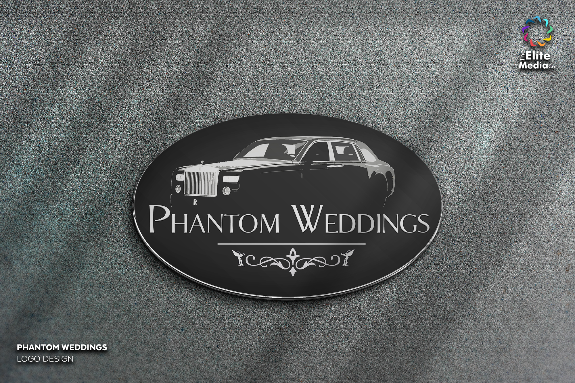 Phantom Weddings – Logo