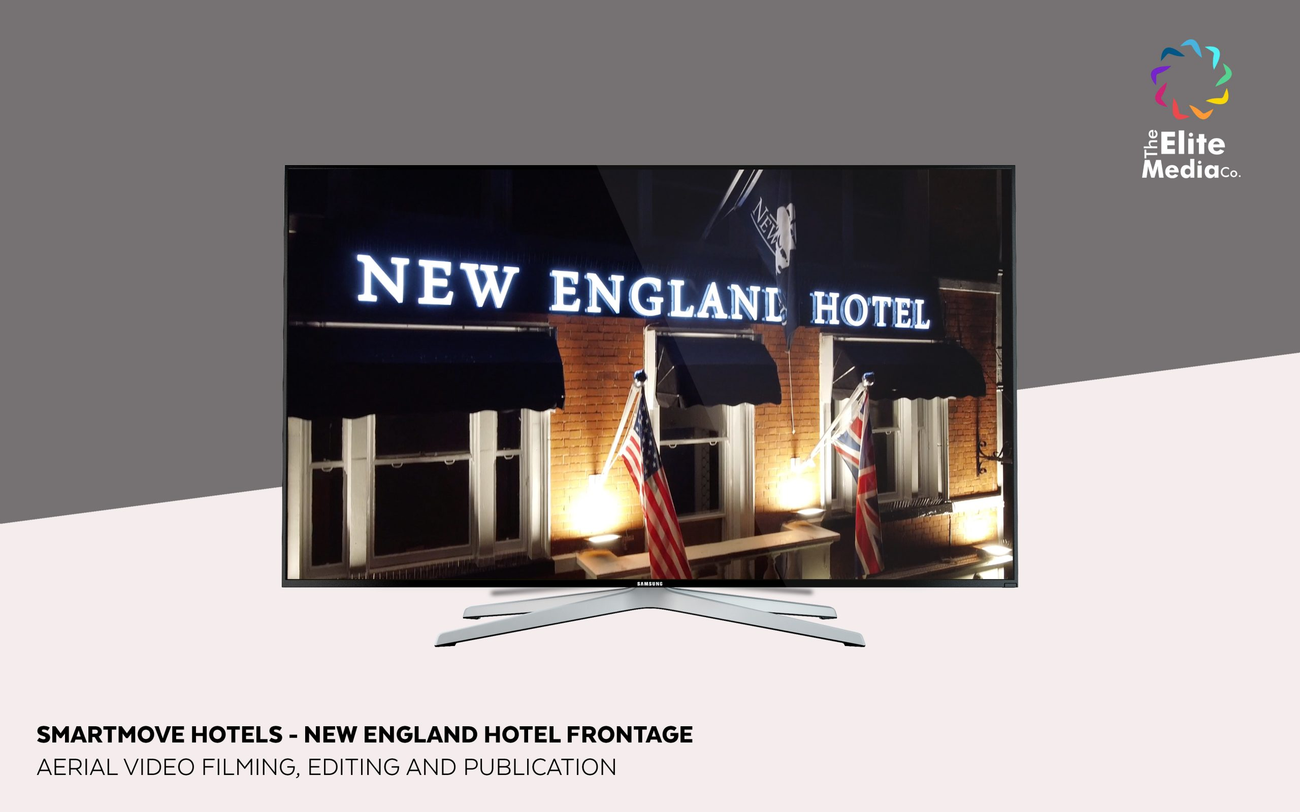 New England Hotel – Exterior Refurbishment