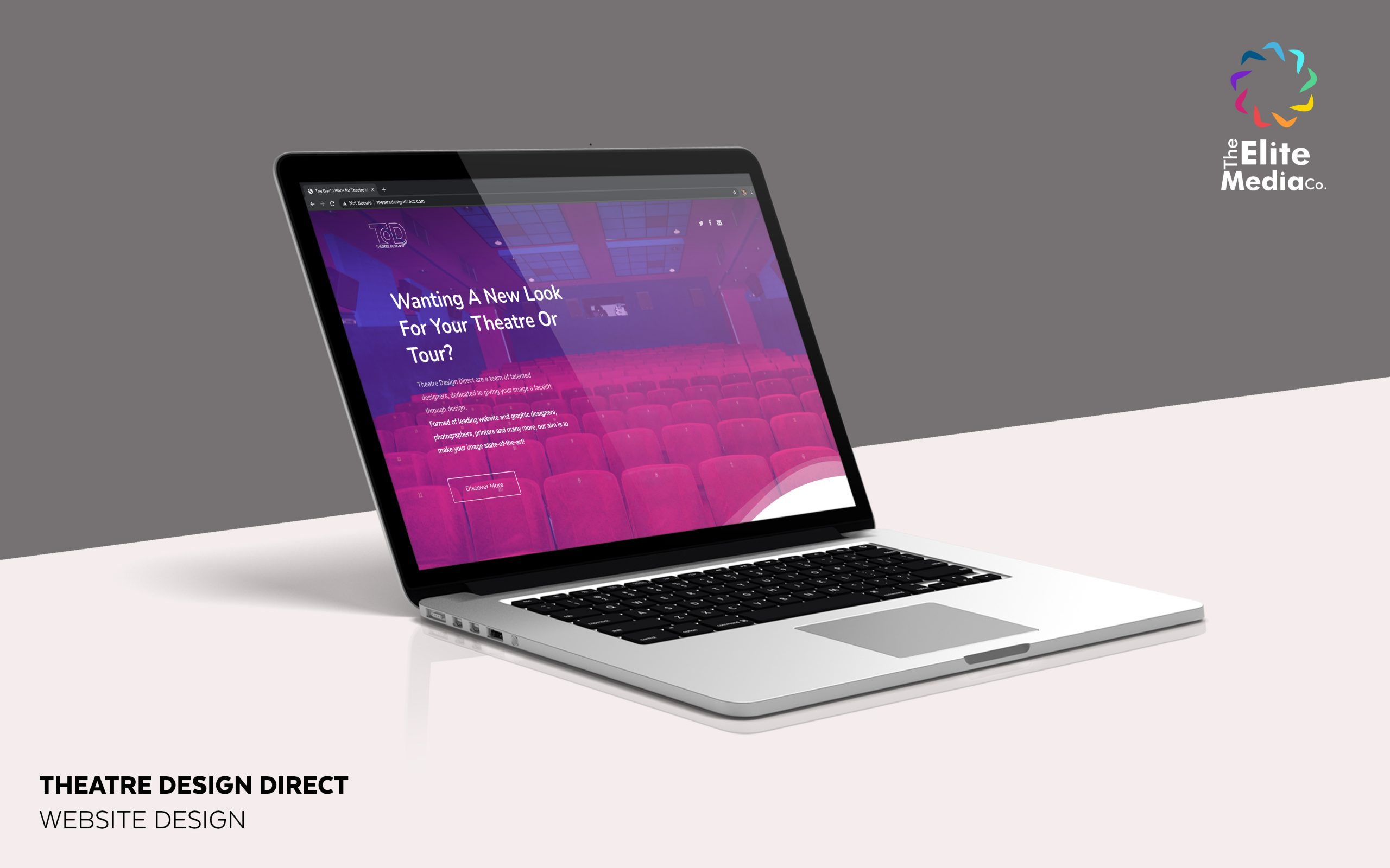 Theatre Design Direct – Website