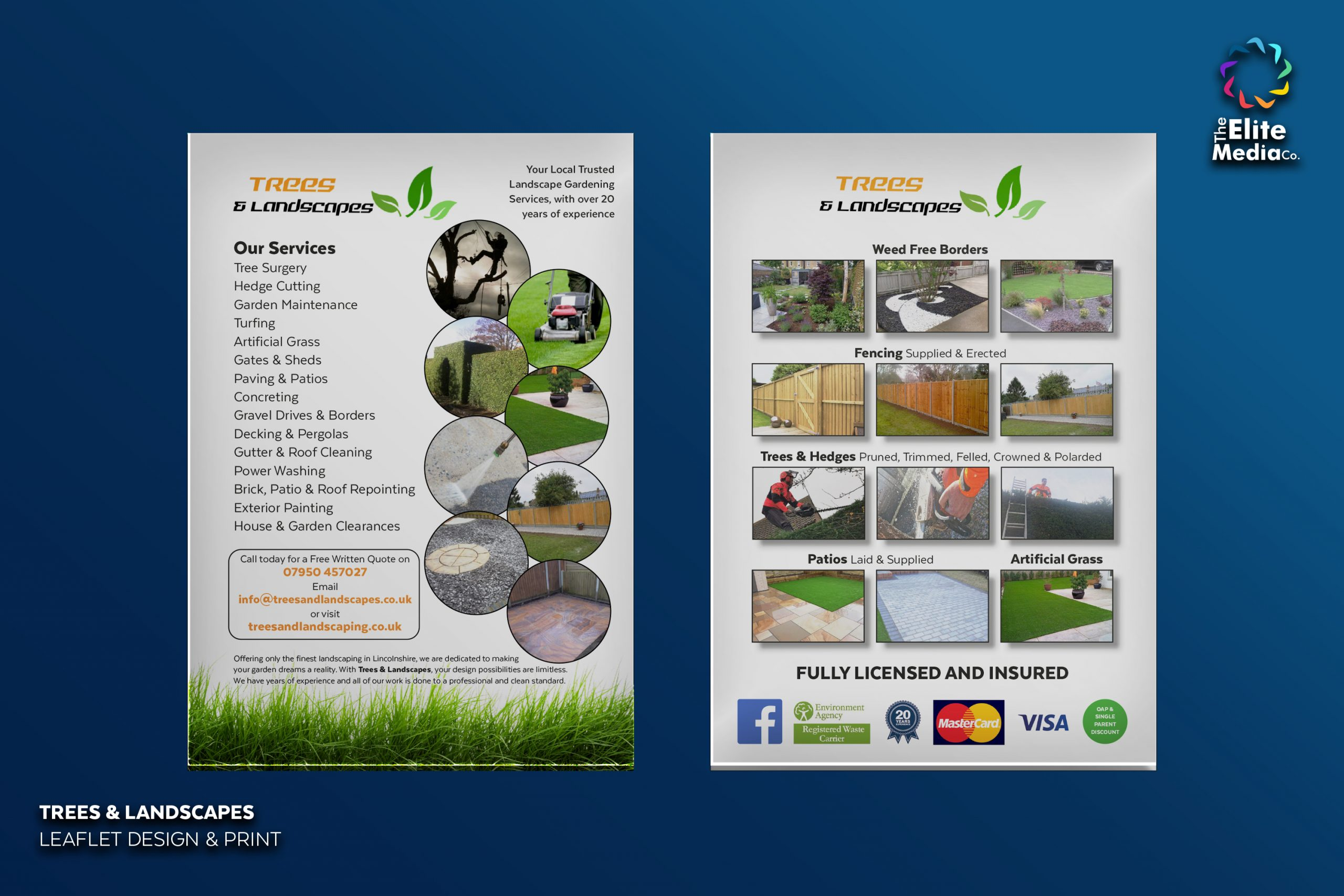 Trees & Landscapes – Leaflet