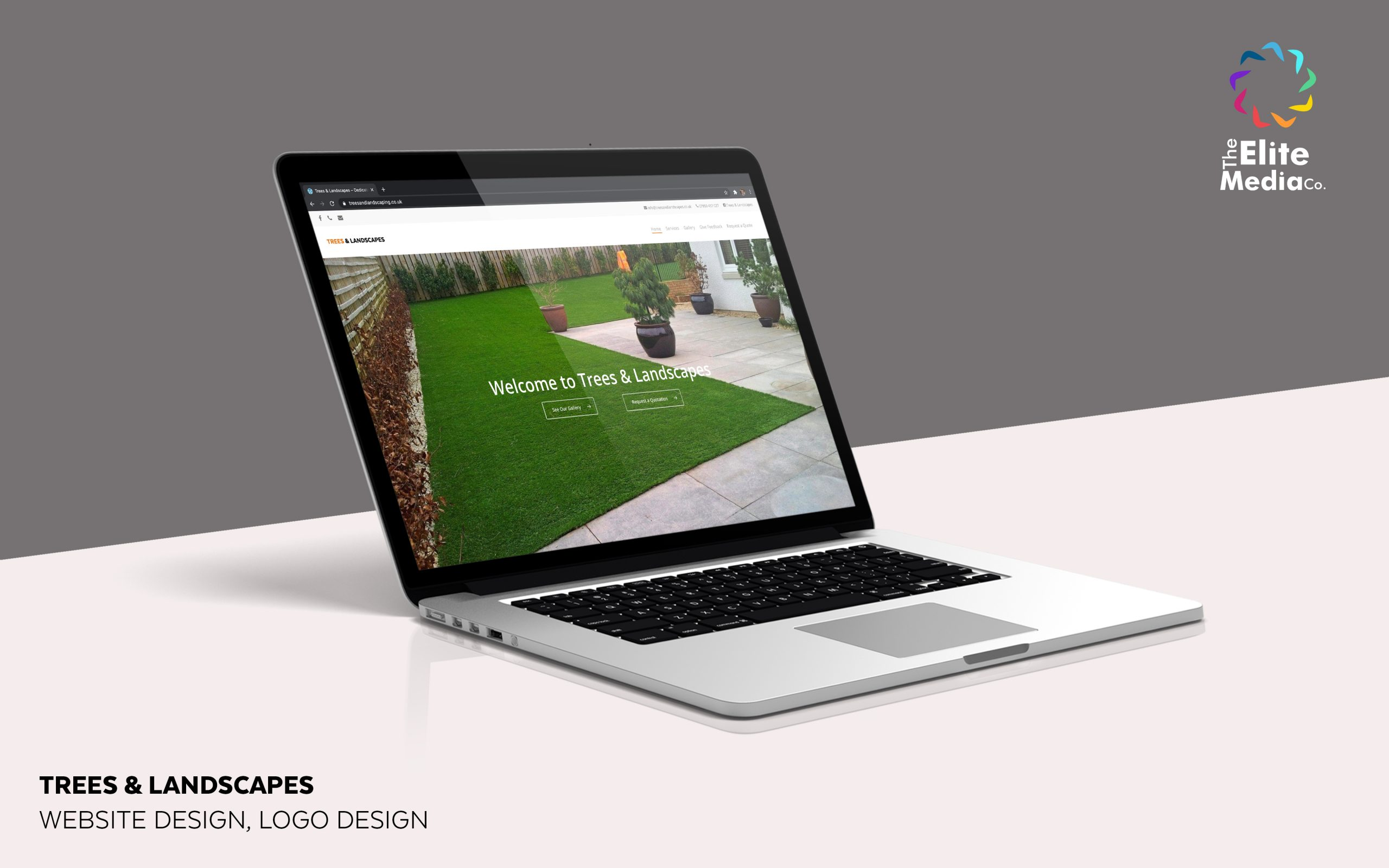 Trees & Landscapes – Website