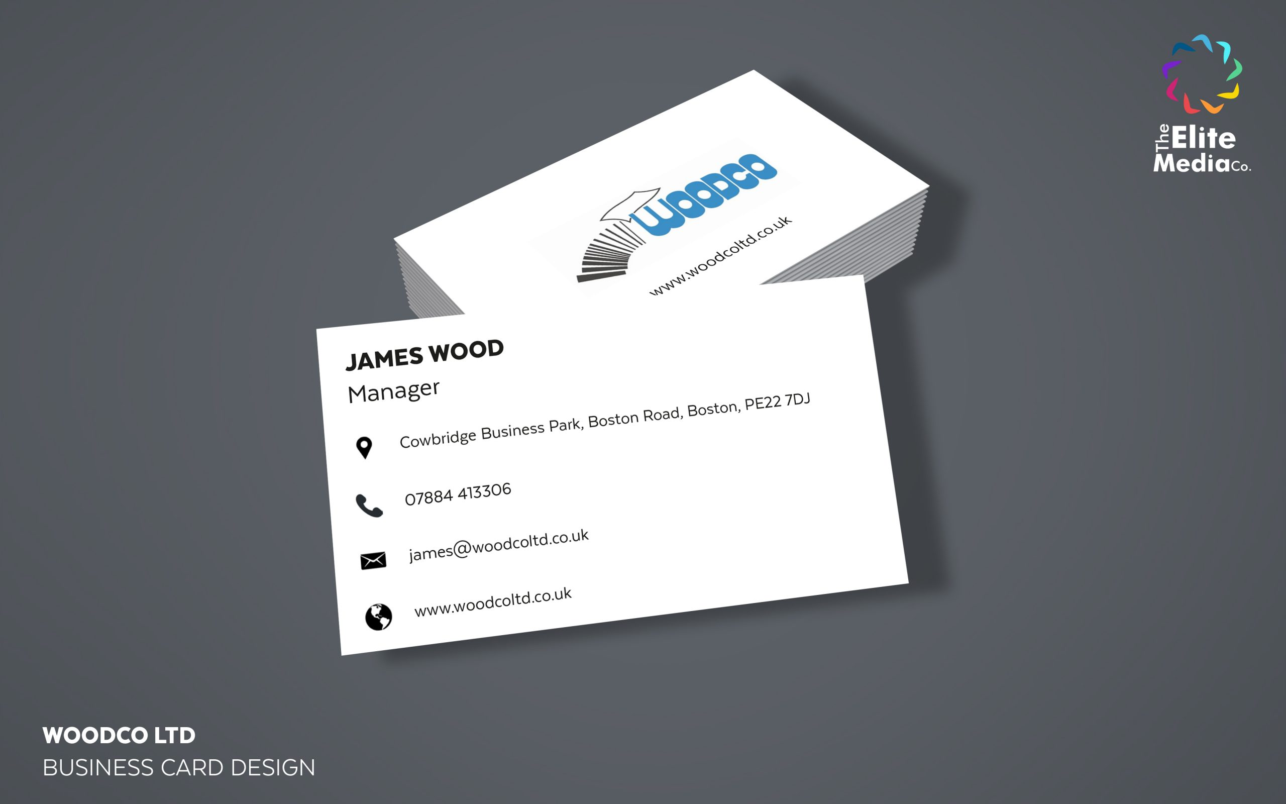 Woodco Ltd – Business Card