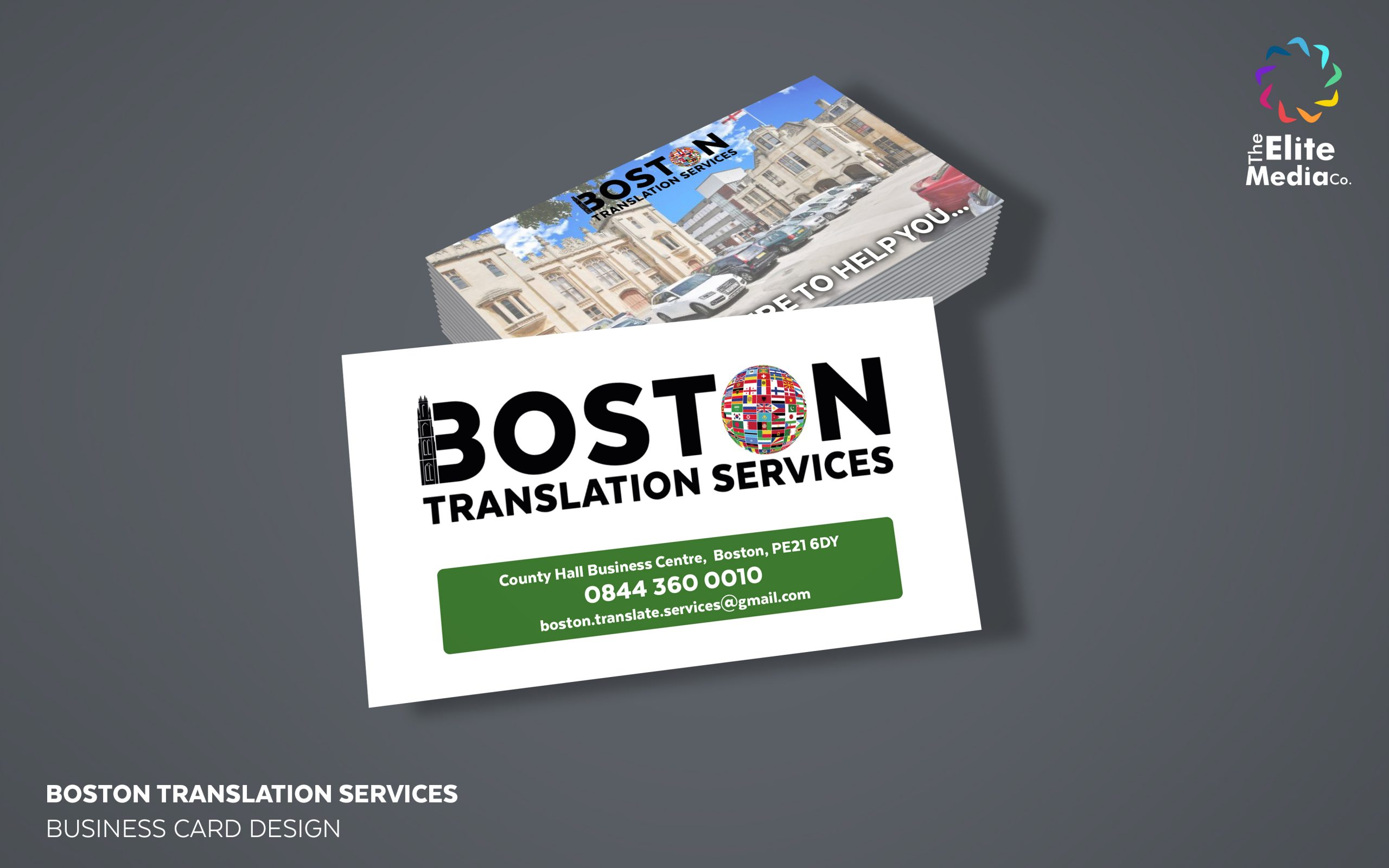 Boston Translation Services – Business Cards