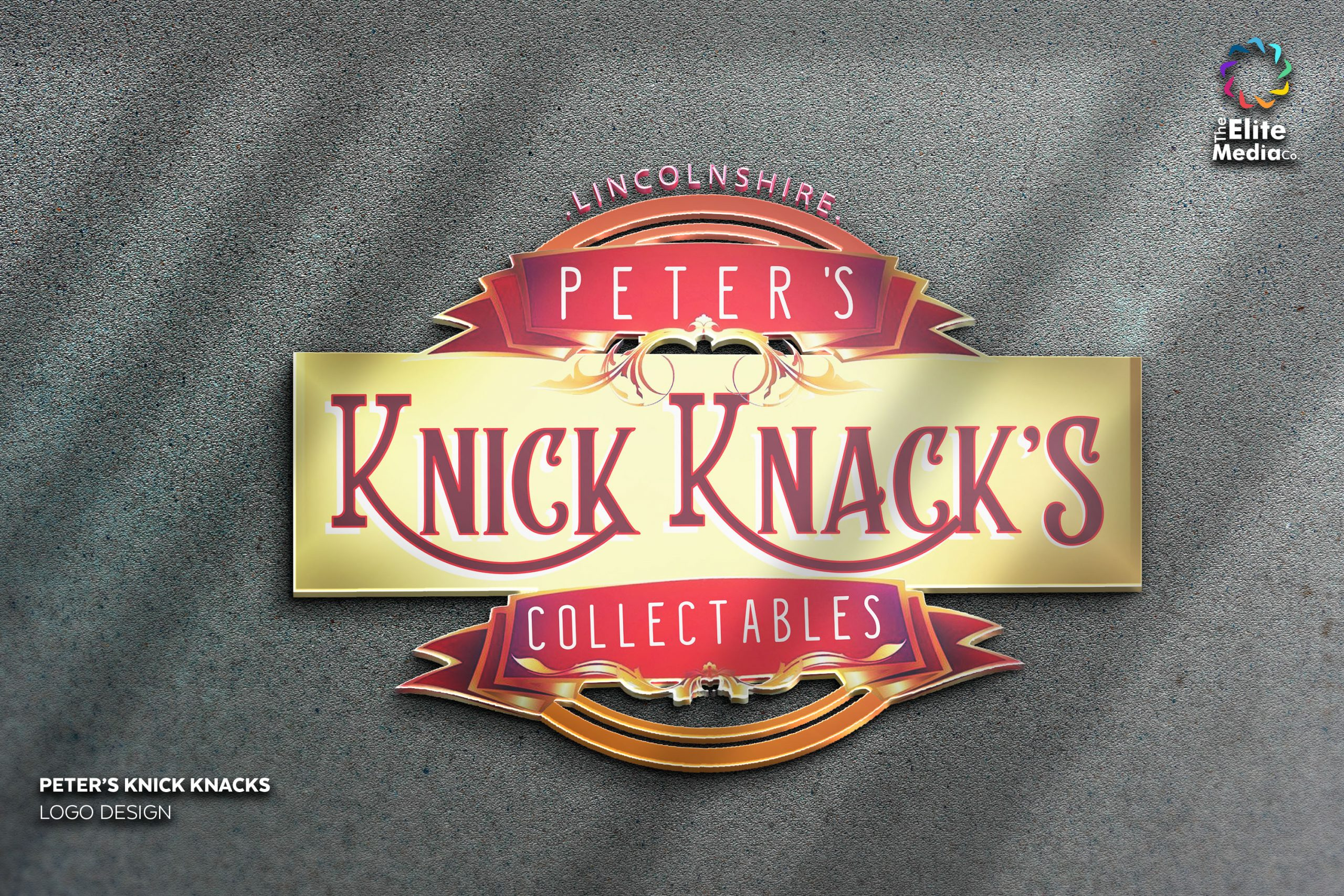 Peter's Knick Knacks – Logo