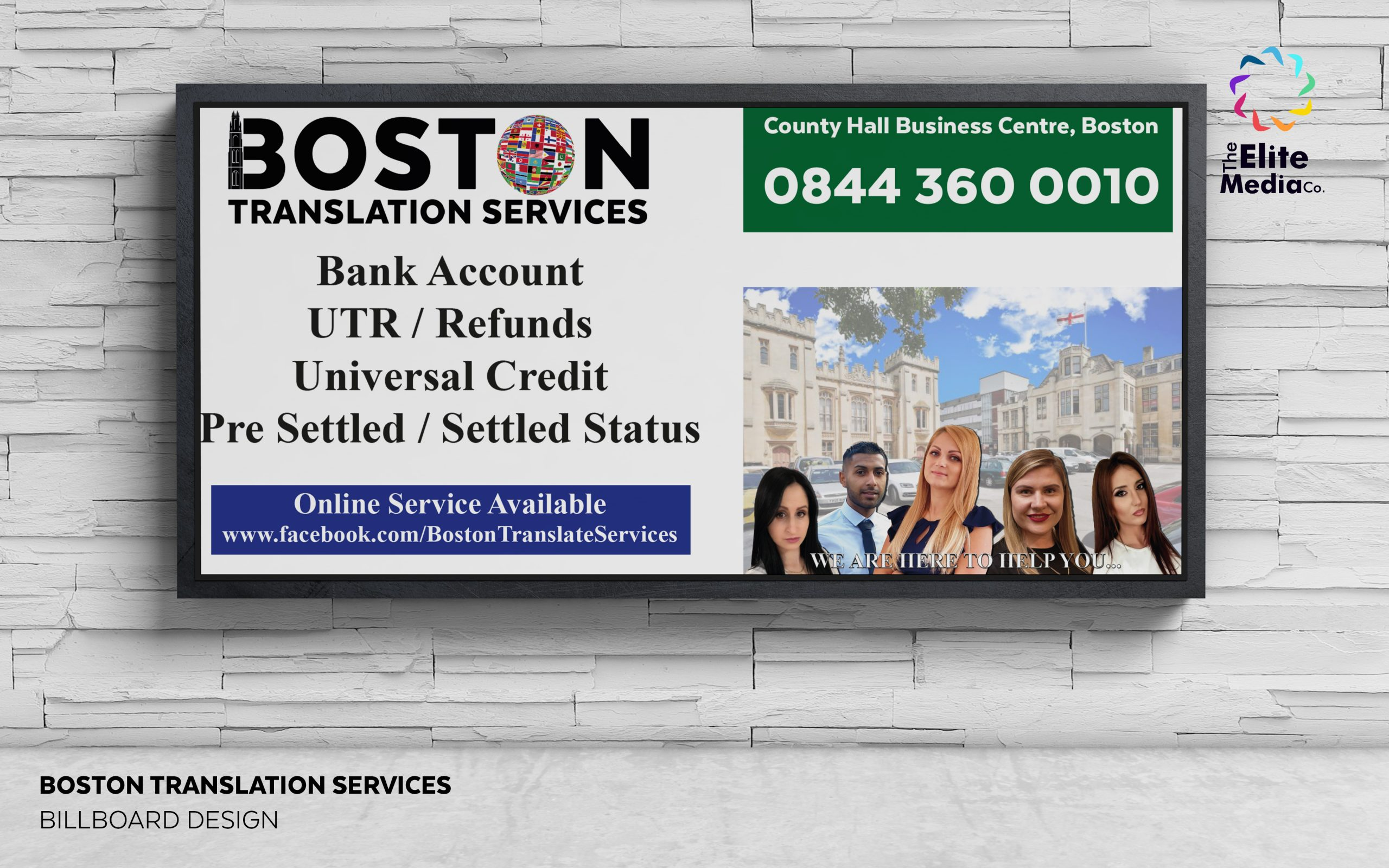 Boston Translation Services – Billboard