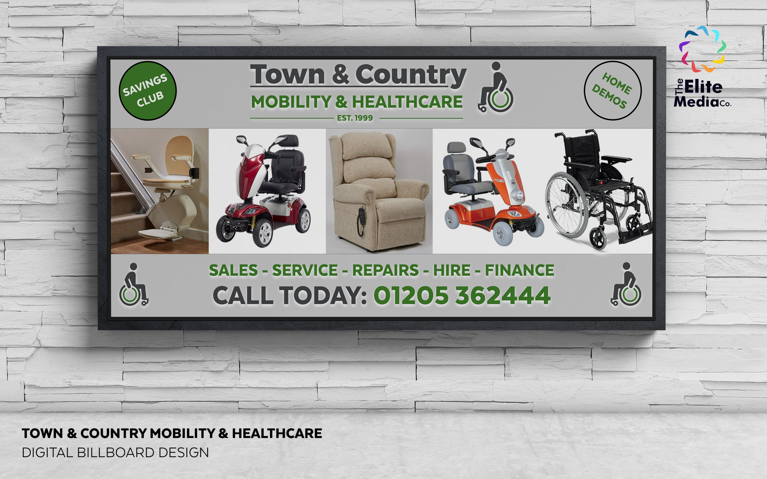 Town and Country Mobility – Billboard