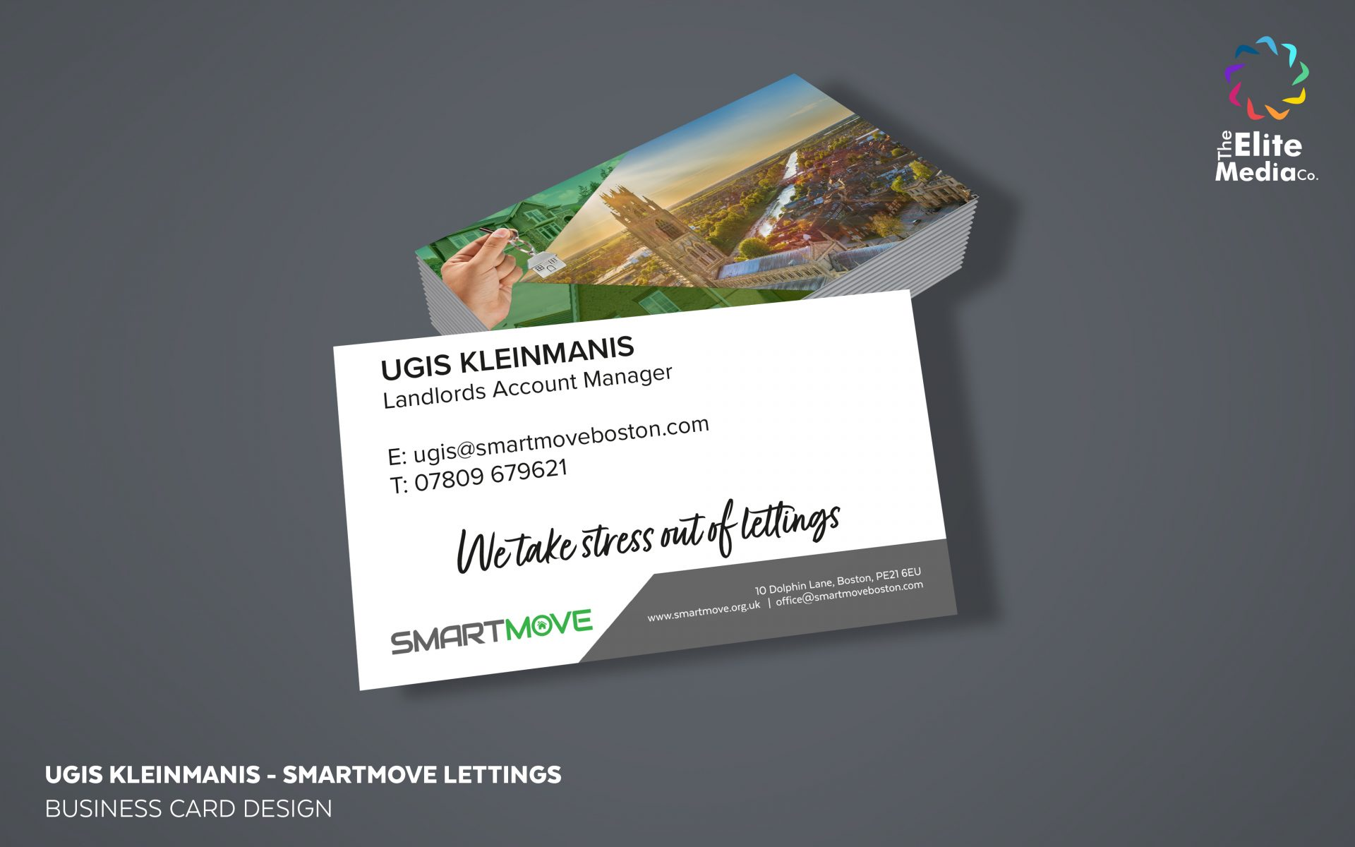 Smartmove Lettings – Business Cards